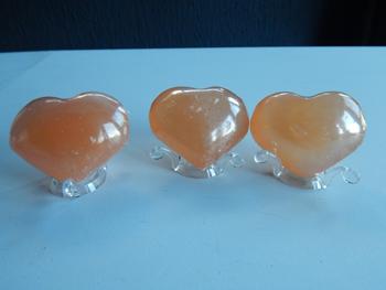 coeur calcite orange